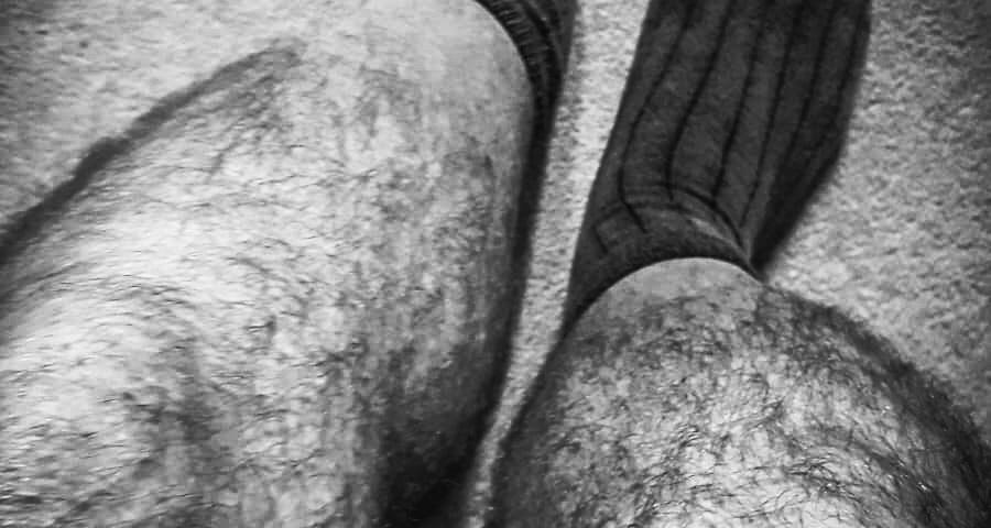 Men, their socks and my wondering mind