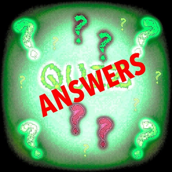 Quiz General knowledge (Answers)