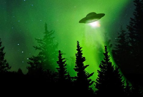Something in the sky! – UFO?
